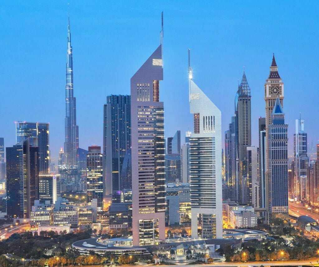 About Dubai - Emirates Towers