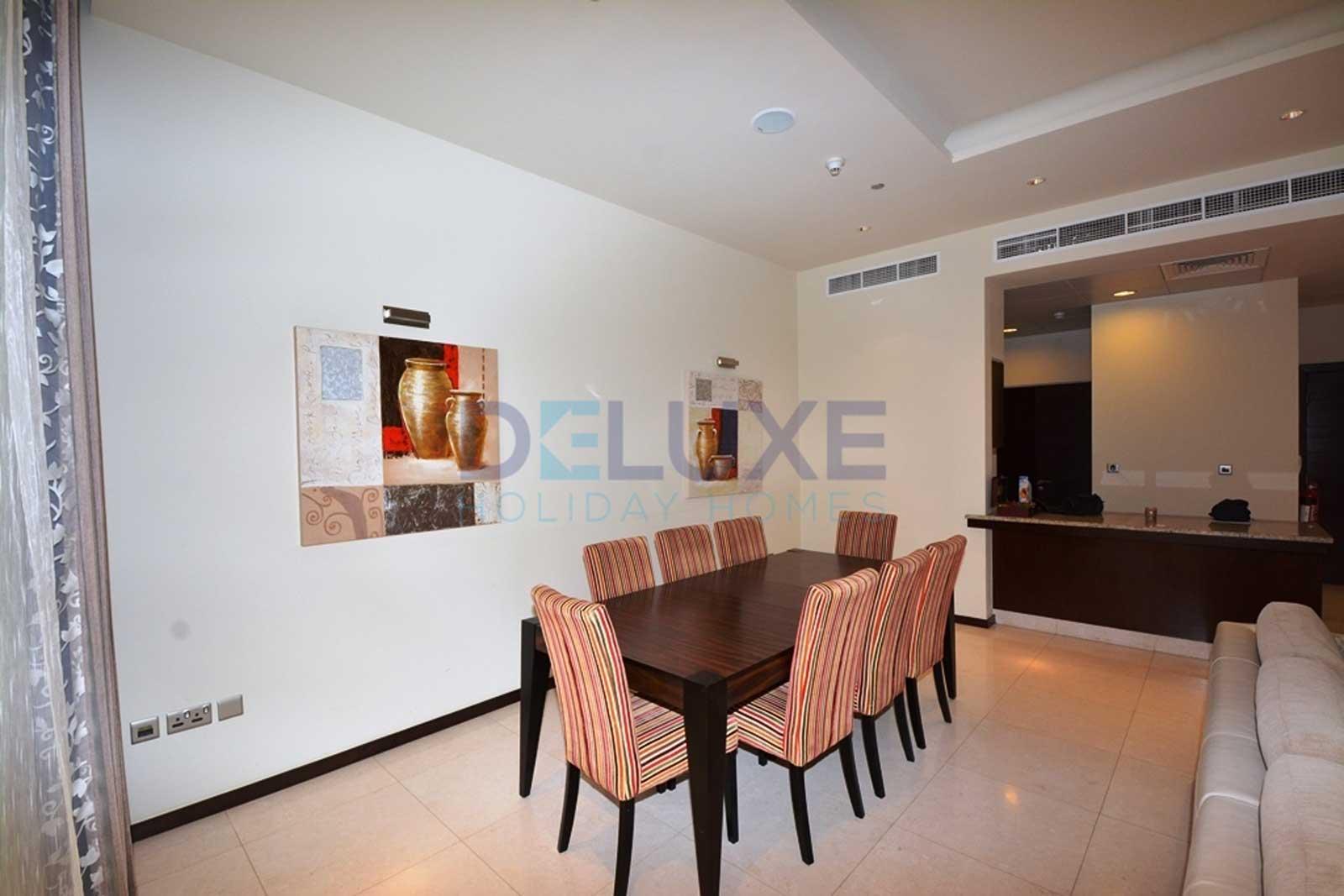 Tiara Residences - Dining Area - Dubai Holiday Home