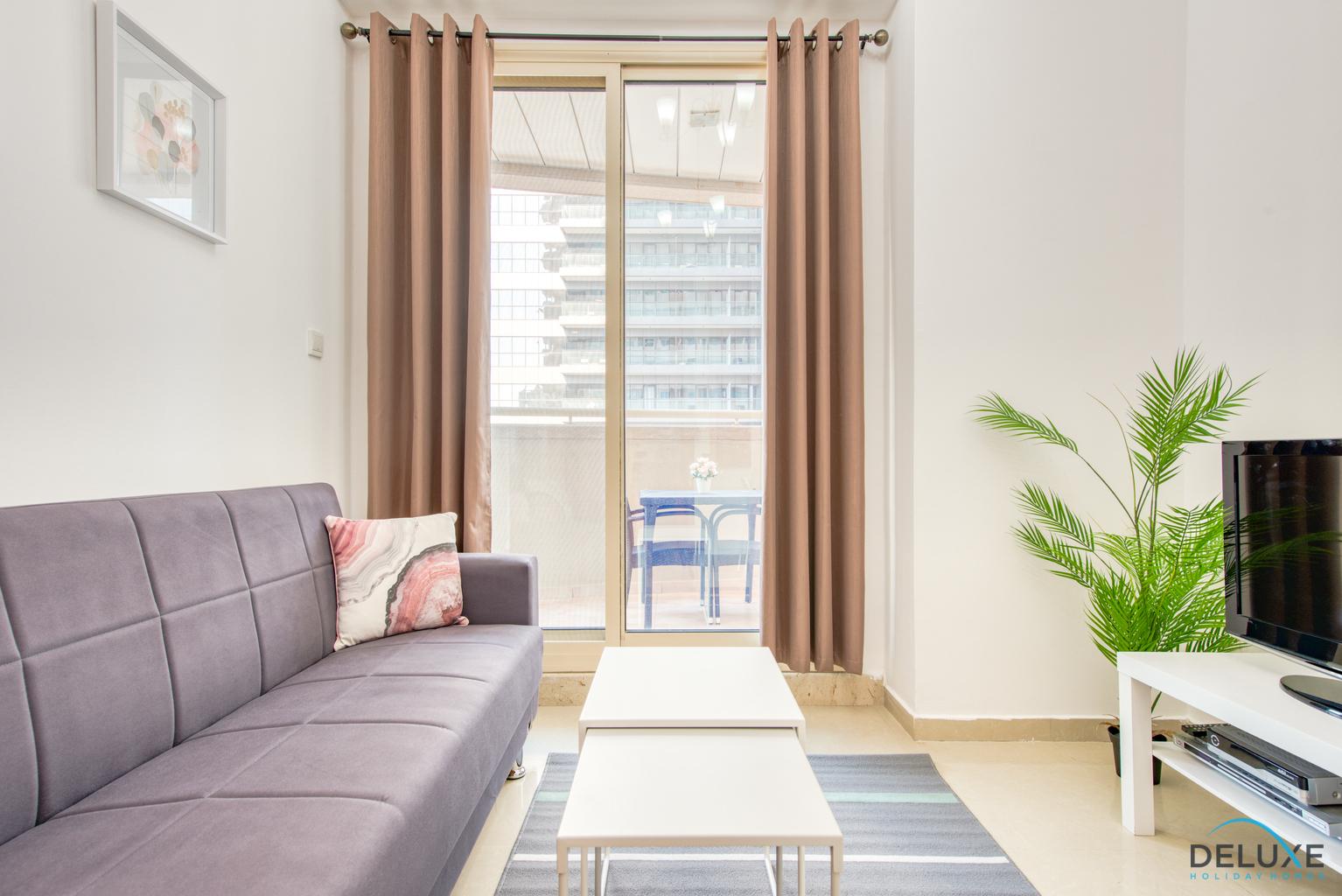 Spotless 1 bedroom apartment in Dream Tower, Dubai Marina ...