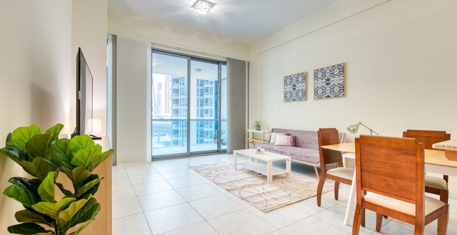 Nice 1 Bedroom Apartment in Azure Dubai Marina - Deluxe ...