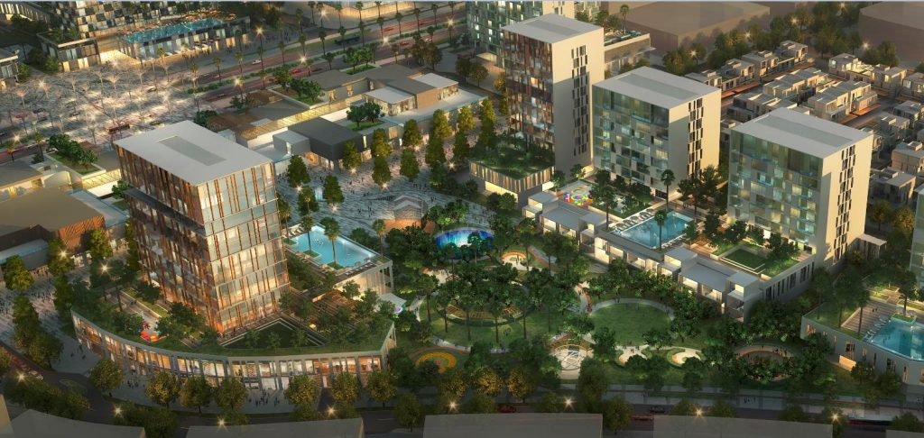 Aerial view of The Pulse Residences
