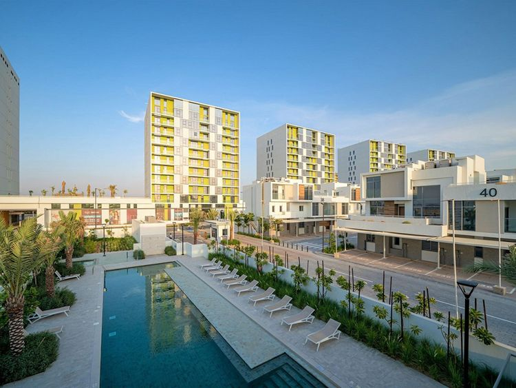 The Pulse Residences, located in Dubai South